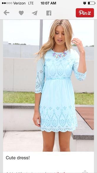 sabo sabo skirt embroidered light blue dress