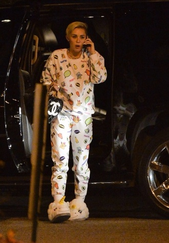 shoes miley cyrus onesie slippers unicorn cute interesting underwear