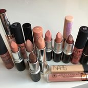 make-up,lipsstick,mac cosmetics,nyx,nars cosmetics,baby lips
