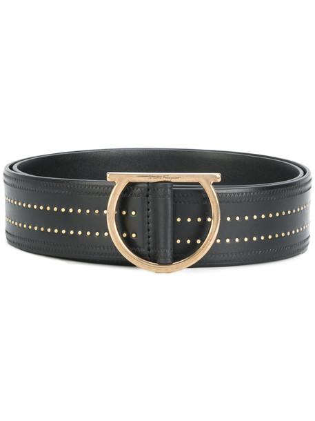 studded belt waist belt black