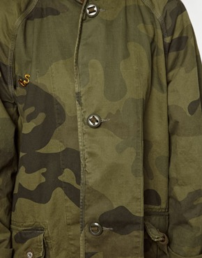 G-Star | G-Star Camoflage Print Military Jacket at ASOS
