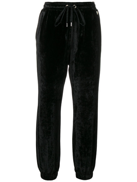Twin-Set women spandex black pants