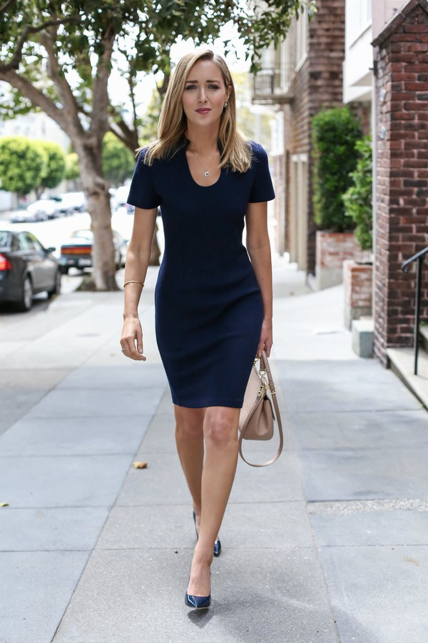 Dress The Classy Cubicle Blogger Sweater Shoes Bag