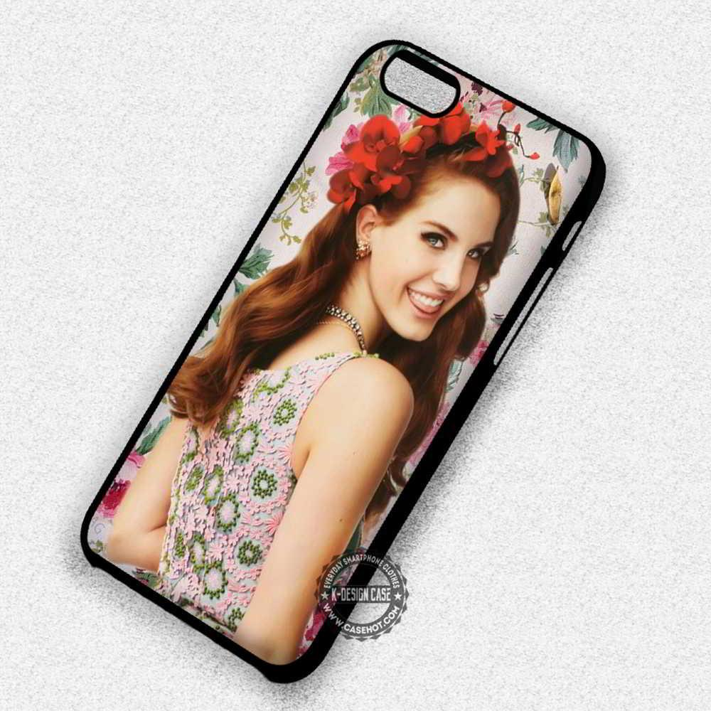 Flowers Beauty Lana Del Rey Vintage - iPhone 7 6 5 SE Cases & Covers