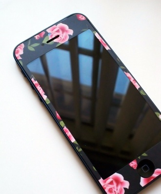 phone cover stickers flowers