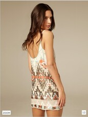 aztec dress,dress