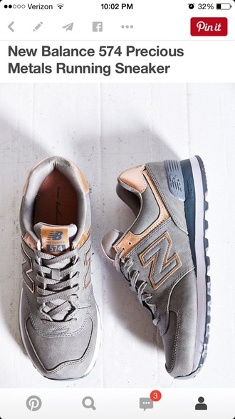 shoes new balance new balance sneakers gold sequins grey sweater