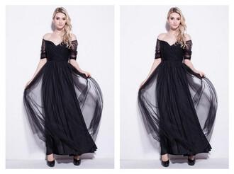 dress little black dress luxurious dress evening dress sexy dress