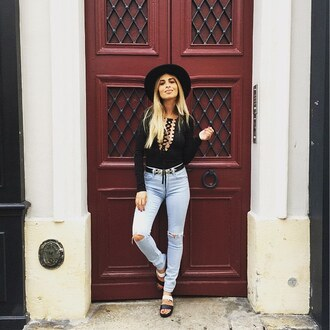 blouse bodysuit lace up nastygal streetstyle