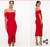 dress,red,off the shoulder,red dress,off the shoulder dress,bardot dress,midi,midi dress,bodycon,bodycon dress,party dress,sexy party dresses,sexy,sexy dress,party outfits,sexy outfit,summer dress,summer outfits,spring dress,spring outfits,fall dress,fall outfits,classy dress,elegant dress,cocktail dress,cute dress,girly dress,date outfit,birthday dress,clubwear,club dress,homecoming,homecoming dress,wedding clothes,wedding guest,engagement party dress,graduation dress,prom,prom dress,short prom dress,red prom dress,formal,formal dress,formal event outfit,romantic dress,romantic summer dress,summer holidays,holiday dress,holiday season