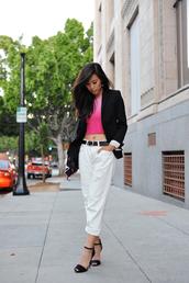 neon blush,jacket,jeans