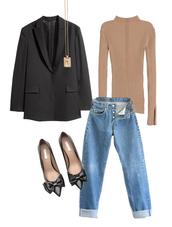 jestem kasia,blogger,sweater,jeans,jacket,shoes,jewels,blazer,pumps,winter outfits