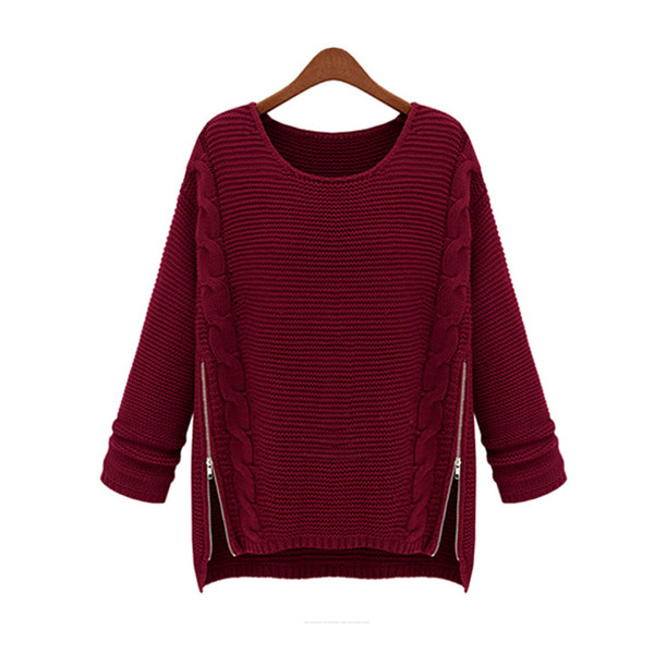 Alis zip knit sweater