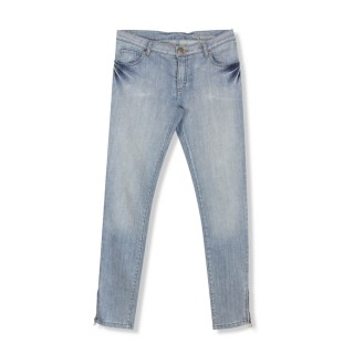 Pantalon slim bleach gilda