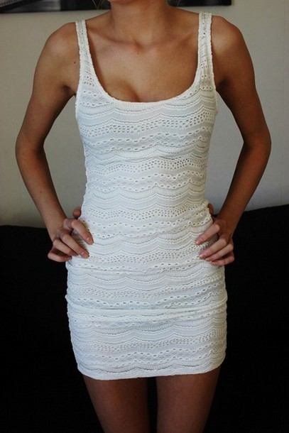 dress white dress lace dress cowboy boots sleeveless tight dress