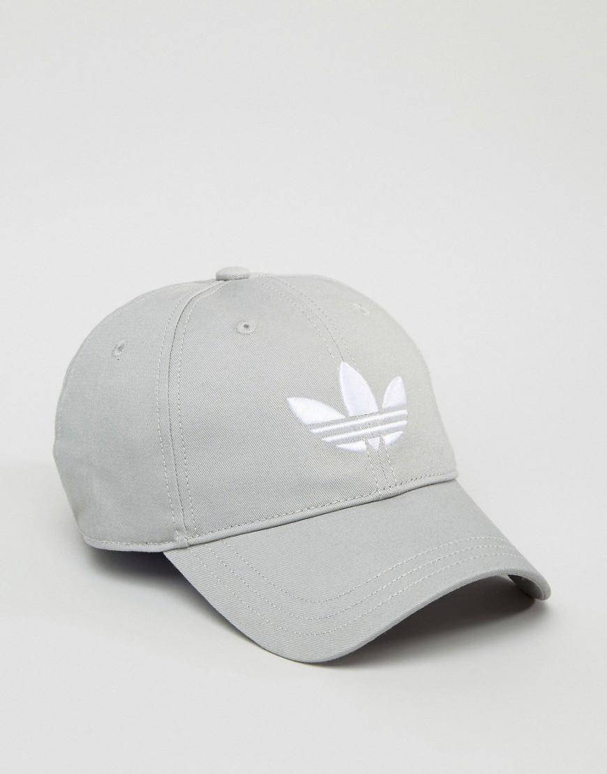 034d6509 adidas Originals Trefoil Logo Snapback Cap at asos.com