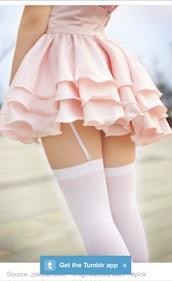 skirt,pink,rose,pastel,layerd,mini skirt,skirt pink,pastel skirt,kawaii,kawaii grunge,pastel goth