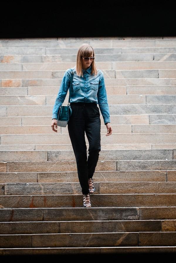 katiquette shirt pants shoes bag