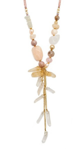 necklace pink jewels