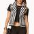 Striped Moto Vest | FOREVER21 - 2000075391