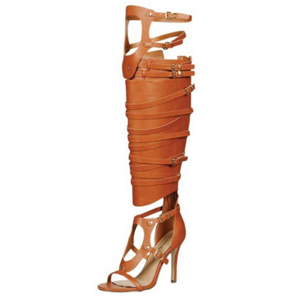 gladiators sandal heels sexy shoes leather sandals