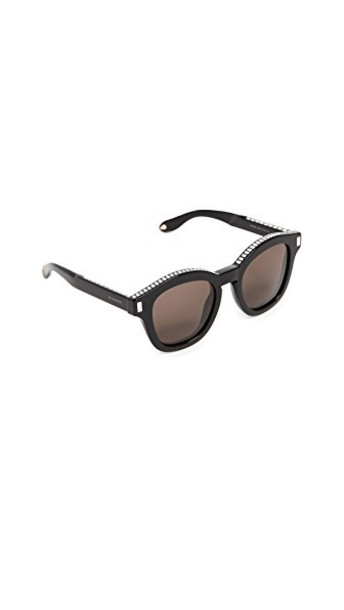 Givenchy embellished sunglasses clear black brown