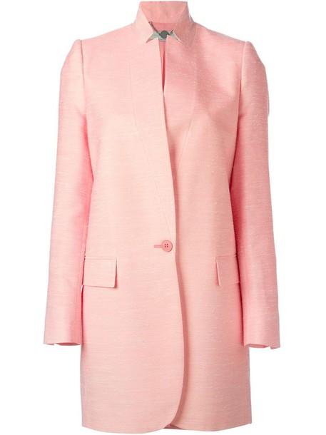 Stella McCartney coat classic purple pink