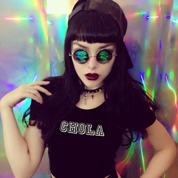 shirt t-shirt sunglasses