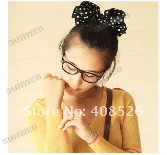 Fashion Bowknot Hair Band Bracelet Ponytail Holder Free Shipping 7059-in Hair Accessories from Apparel & Accessories on Aliexpress.com