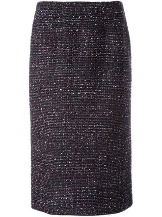skirt pencil skirt classic black