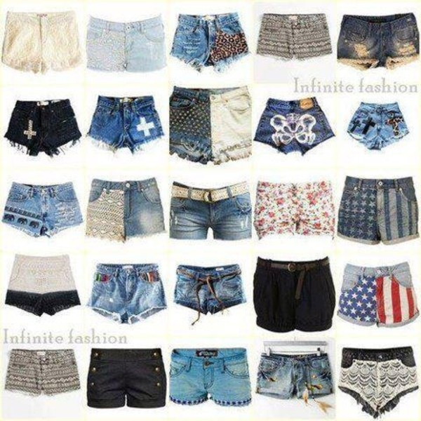 shorts denim shorts High waisted shorts
