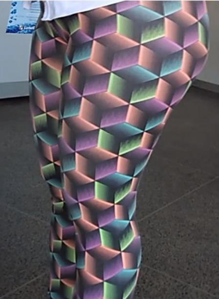 leggings spandex colorful leggings gym fitness activewear