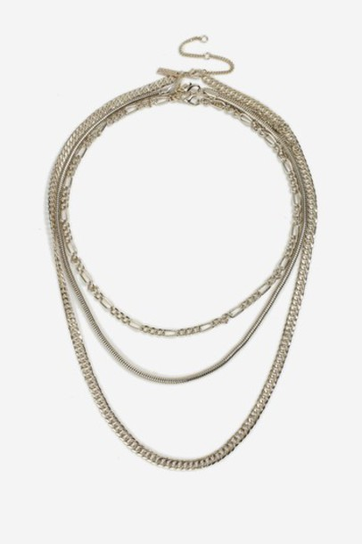 Topshop necklace choker necklace gold jewels