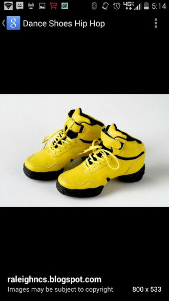 shoes yellow shoes
