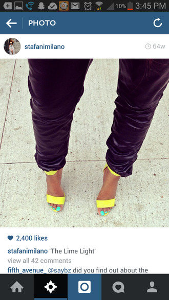 shoes yellow heels yellow shoes yellow