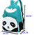 Cute Women's Panda Backpack Style School Bags Canves Bookbag Rucksack 9 Colors | eBay
