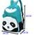 Cute Women's Panda Backpack Style School Bags Canves Bookbag Rucksack 9 Colors | eBay