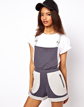 ASOS | ASOS Short Overalls in Jersey at ASOS