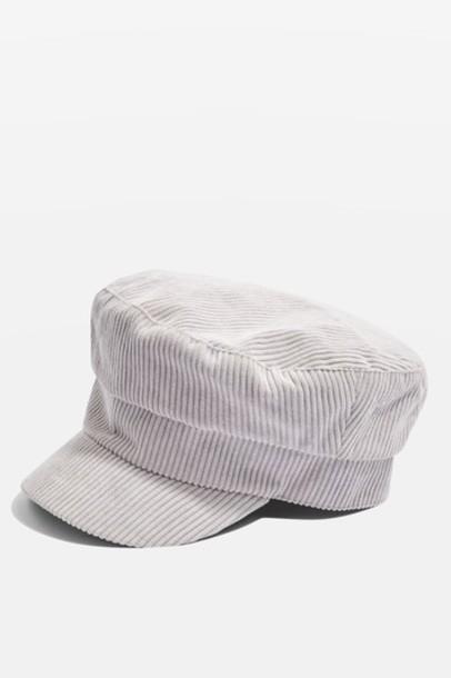 Topshop hat grey