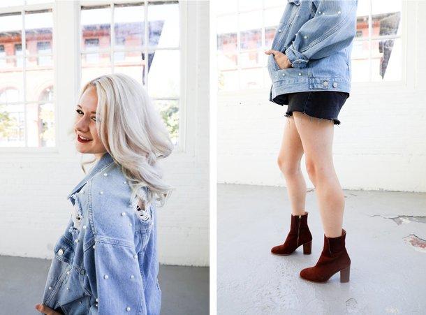 freepeopleblog blogger shoes sweater hat bag coat socks skirt