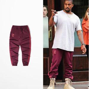 Men Kanye West Jogging Pants Calabasas