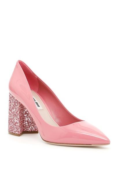 Miu Miu glitter pumps shoes