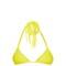 Kula woven-ties triangle bikini top