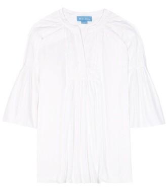 blouse cotton white top