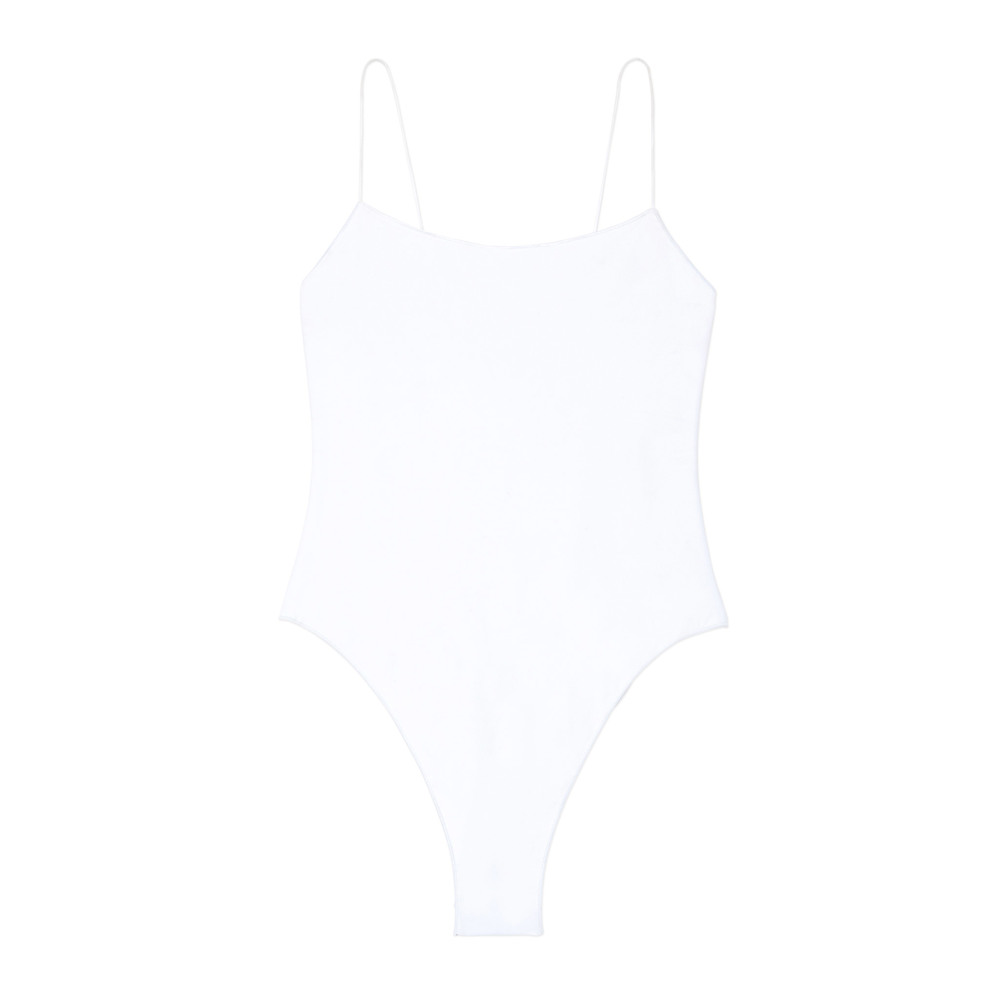One-Piece with String Straps