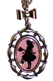 Collier alice pink