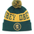 OBEY Clothing Crowned pom pom beanie (forest)