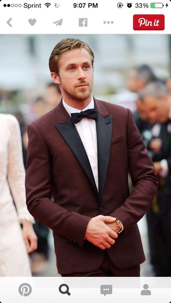 jumpsuit ryan burgundy suit prom tuxedo tux