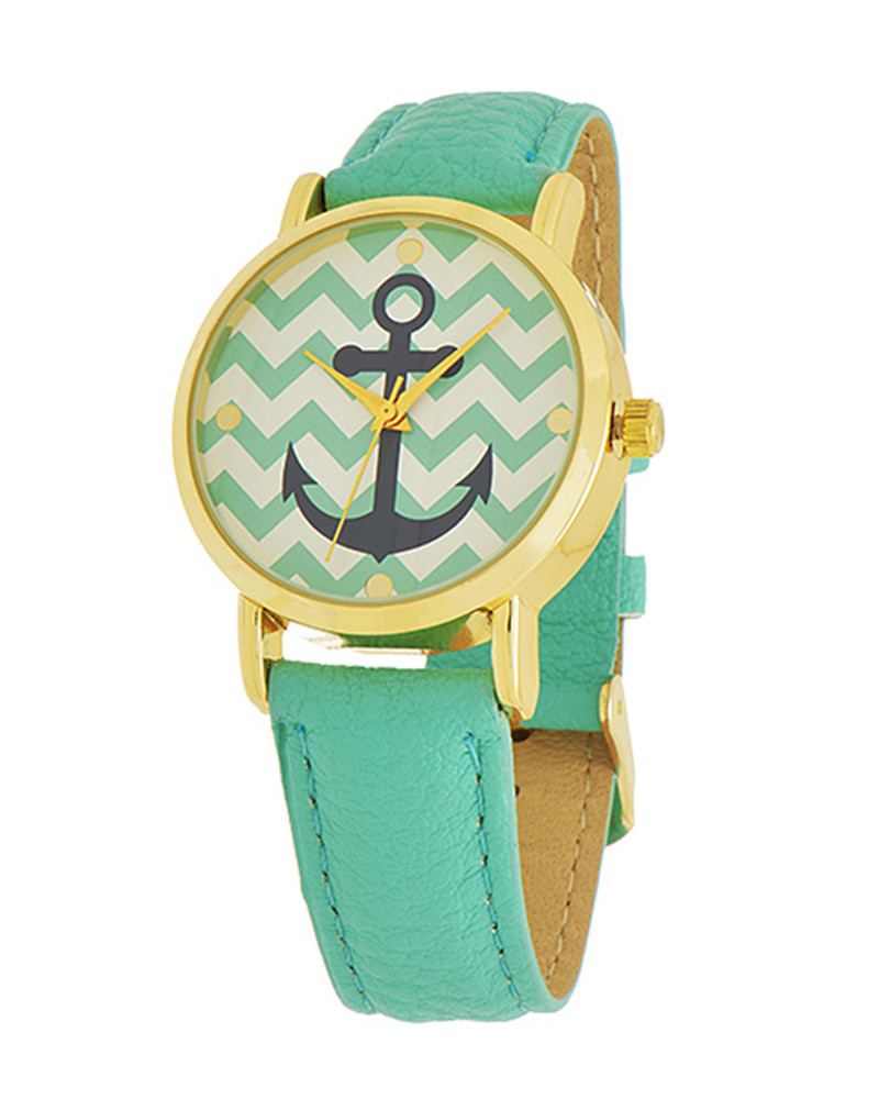 Anchor Chevron Watch