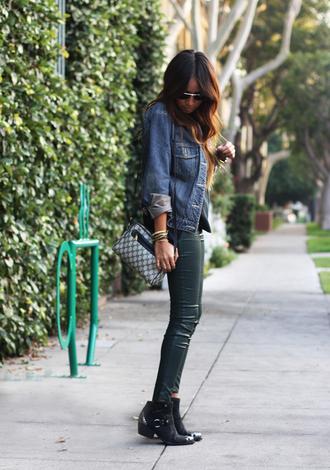 jeans shoes jewels jacket bag sincerely jules